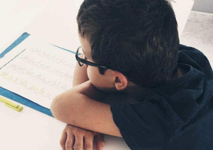 Enfant qui ne veut pas faire ses devoirs - lâcher prise sur le résultat