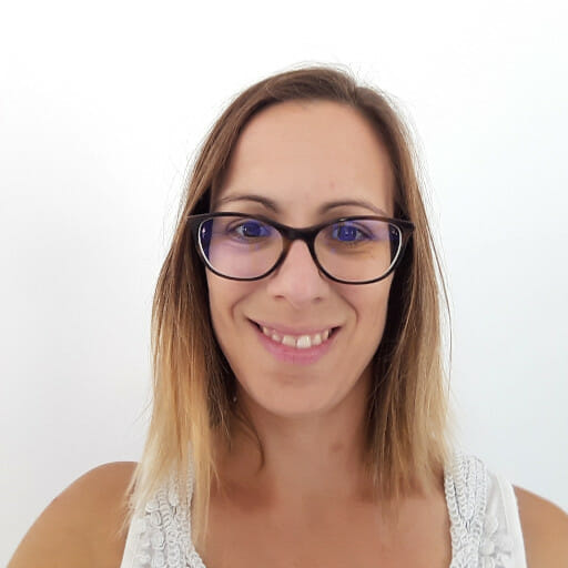 Erica visage souriant