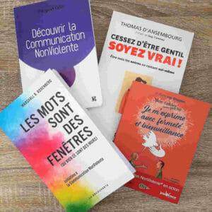 Livres sur la communication non violente CNV