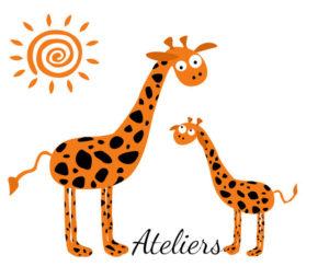 logo ateliers blog petite girafe